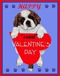 Valentine Saint Bernard