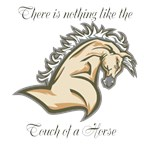Touch of a horse