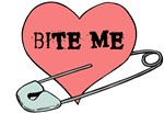 Bite Me Punk Heart
