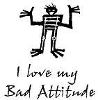 Man Bad Attitude