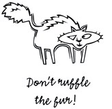 Don't Ruffle the Fur!