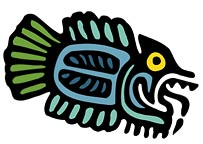 Tribal Fish | Tropical Tribal Tiki Chic T-shirts & Gifts