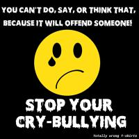Stop Your Cry-Bullying
