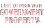 GOVERNMENT PROPERTY - PINK