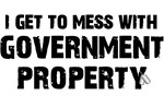 GOVERNMENT PROPERTY - BLACK