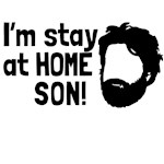 im at home son