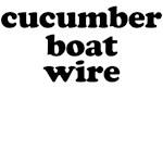 cucumber boat wire