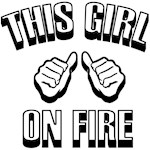 this girl on fire