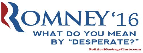 2016 Presidential Bumper Stickers