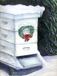 Merry Christmas Bee Hive
