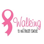 Walking for breast cancer awareness!