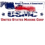 USMCFP United States Marine Corp Fan Gear Old Glor
