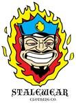 old school cop and flames stalewear logo