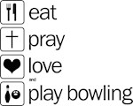 Eat pray love darts