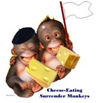 Cheese Eating Surrender Monkeys