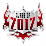 Class of 12 Flames T-Shirts and Apparel