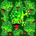 Gecko Lizard Baby Cartoon
