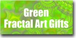 Green Fractal Art Gifts