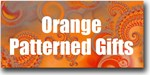 Orange Patterned Gifts