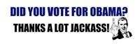 Thanks a lot jackass!