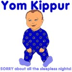 Yom Kippur Blue PJs