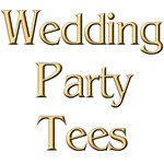 Golden Wedding Party Tees