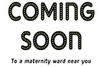 Coming Soon maternity t-shirts