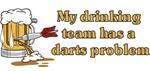 Darts team t-shirts & gifts