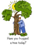 Tree Hugger t-shirts & gifts