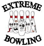 Extreme Bowling t-shirts & gifts