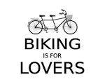 Biking is for lovers