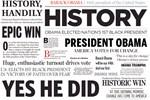 Obama Wins! Historic Headlines
