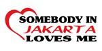 Somebody in Jakarta loves me