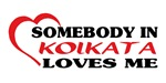 Somebody in Kolkata loves me