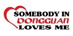 Somebody in Dongguan loves me