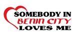 Somebody in Benin City loves me