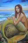 Mermaids and Light Fantasy Art