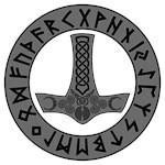 Mjölnir Rune Shield