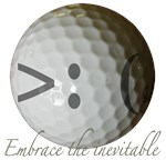 Angry Golf ball