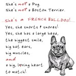 SHE'S not a Pug! (Smiling)