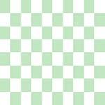 Mint green checkerboard