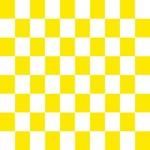 Lemon Yellow Checkerboard