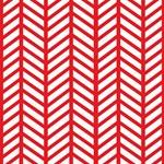 Bright Red Lattice Weave