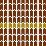 Brown Bordered Fence Panel