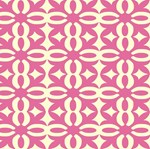 Bubblegum Pink Victorian Lace