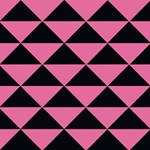 Party Girl Pink Triangles
