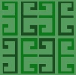 Two Toned Green Tile