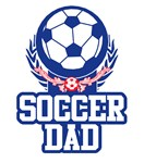 Soccer Dad T-shirts. Wear the Soccer dad t-shirts