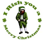 Irish Christmas. I Rish you a Merry Christmas.