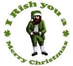 Irish Christmas. I Rish you a Merry Christmas.